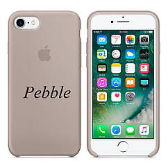 "Apple silicon case iPhone 7 ""Pebble"""