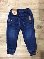 Джинсовые брюки на флисе для мальчиков оптом, Grace, 1-5 лет, арт. B82803, фото 4