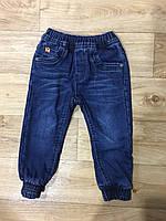 Джинсовые брюки на флисе для мальчиков оптом, Grace, 1-5 лет, арт. B82803, фото 2