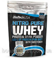 Протеин BioTechUSA Nitro Pure Whey, 454 g