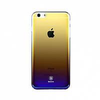 "Пластиковая накладка Baseus Glaze Ultrathin для Apple iPhone 6/6s plus (5.5"") Фиолетовый"