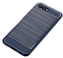 TPU чехол iPaky Slim Series для Huawei Honor 10 Синий