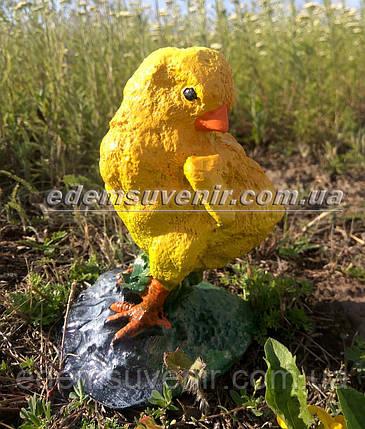 Садовая фигура Цыпленок, фото 2
