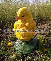 Садовая фигура Цыпленок, фото 3