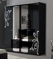 Шкаф Богема 4Д (с зеркалом) Миро-Марк
