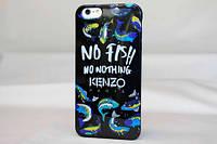 Силіконовий чохол Kenzo Fish для iphone 5