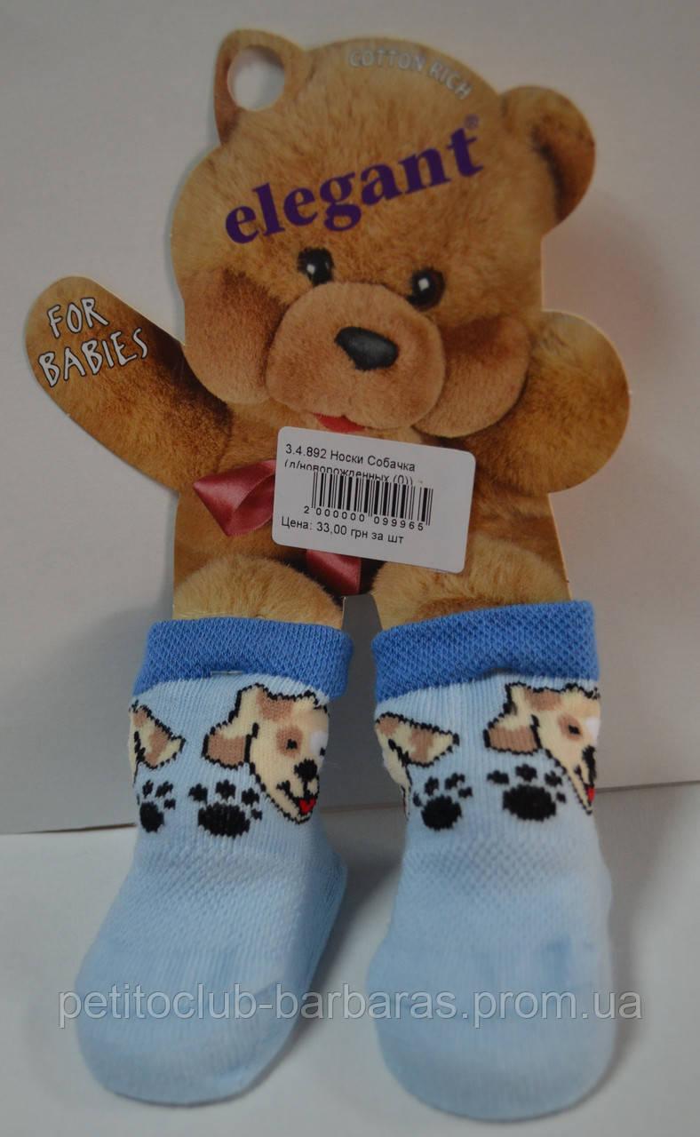 Носки для новорожденных Собачки (Oztas, Турция)