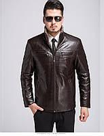Куртка кожаная зимняя, дубленка мужская ,с натуральной кожи и овчины 3XL..