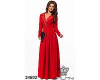 Вечернее платье  24692 с   42 по 46 размер (бн)