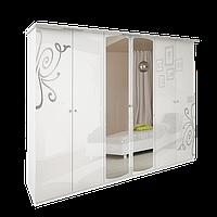 Шкаф Богема 6Д (с зеркалом) Миро-Марк