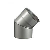 Колено 45, D120 толщина 0,8 мм  AISI 304