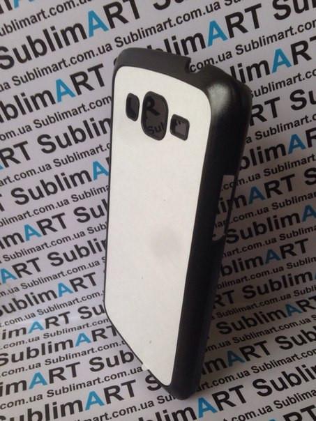 Чехол для 2D сублимации пластиковый матовый на Samsung G7102 Galaxy Grand 2 Duos черный
