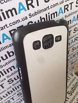 Чехол для 2D сублимации пластиковый матовый на Samsung G7102 Galaxy Grand 2 Duos черный, фото 3