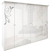 Шкаф Богема 6Д без зеркала Миро-Марк