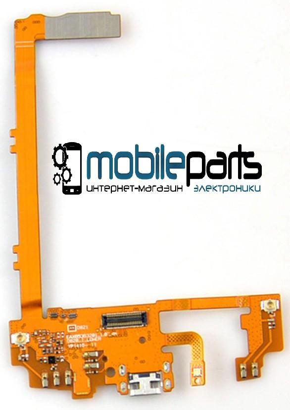Шлейф (Flat cable) LG D820 Nexus 5 | D821 с разъемом зарядки, микрофоном, компонентами