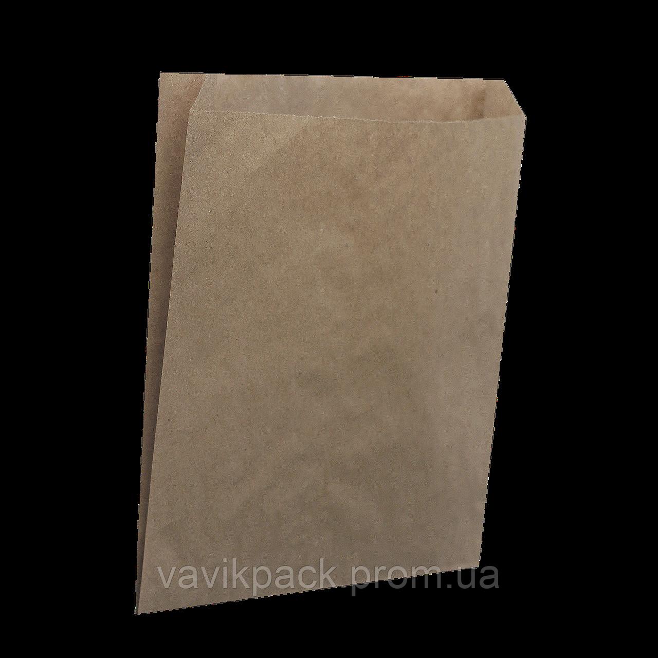 Пакет (120*40*100 мм)   Крафт импорт  41г/м2  жиростойкий