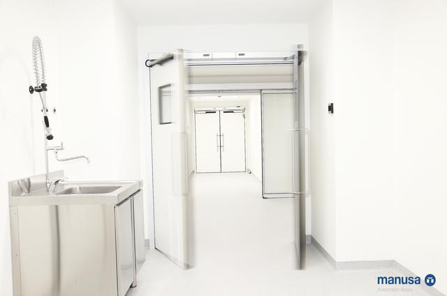 Двери для медицинских учереждений
