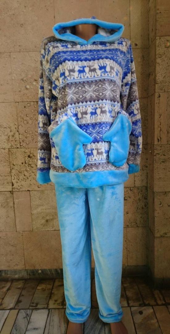 Пижама с варежками