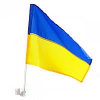 Флаг Украины на автомобиль (35*30)