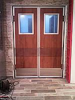 Маятниковые двери жесткие