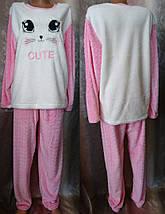 Пижама женская с вышивкой, фото 3