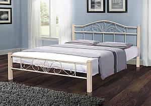 Кровать Релакс Вуд 160-200 см (бежевый)