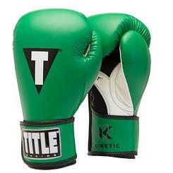Перчатки TITLE Kinetic Aerovent Boxing Gloves black