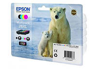 Картридж Epson 26XL XP600/605/700 Bundle (C,M,Y,Bkp) (500 стр) (C13T26364010)