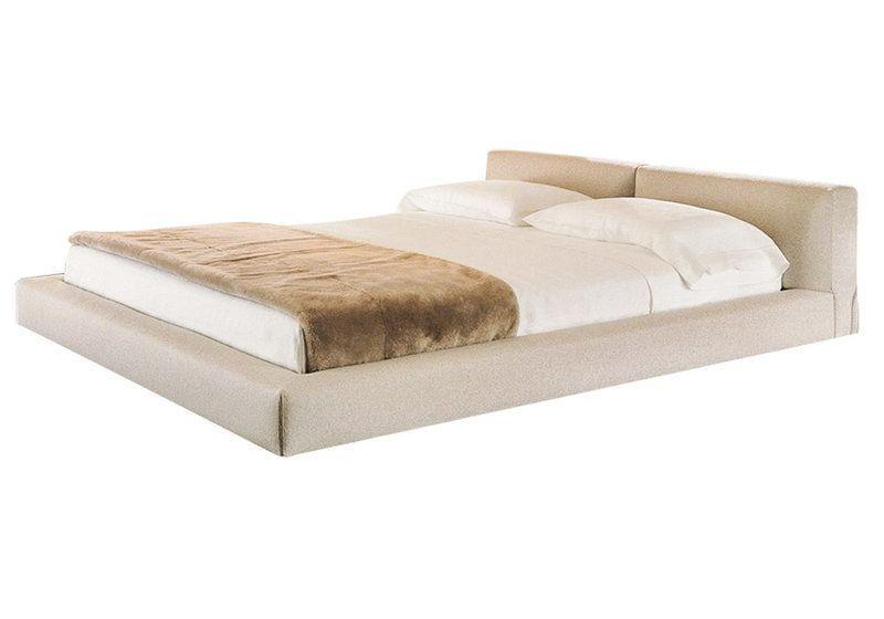 Ліжко з м'якою спинкою з підйомним механізмом Клайн (160 х 200) КІМ