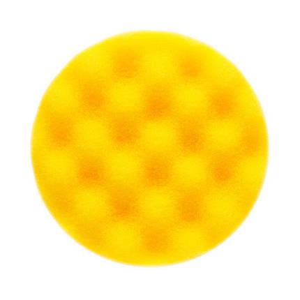 Полировальный диск рельефный жесткий  - Mirka 85 мм. желтый (7993408521), фото 2