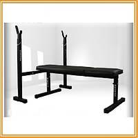 Стойка для штанги+ скамья для жима лёжа MAGNUS MC-L002