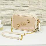 Шкіряна жіноча сумка. Виробництво Україна, фото 3
