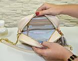 Шкіряна жіноча сумка. Виробництво Україна, фото 4