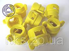 """Ковпачок розпилювача (жовтий) до форсунки ОР-2 """"Polimer""""."""