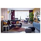 Журнальный столик IKEA LISTERBY 90 см коричневый 303.514.40, фото 4
