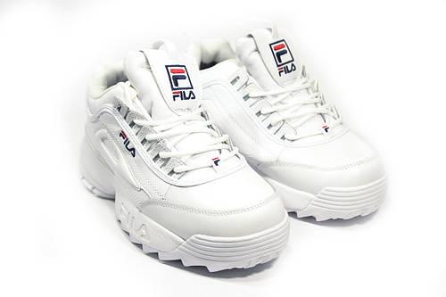 Зимние кроссовки (НА МЕХУ) женские FILA (реплика) 10-123 - купить по ... cd6c138091cd4