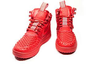 a5836572 Зимние кроссовки (НА МЕХУ) женские Nike AF1 1-018 (реплика)