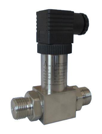 Датчик дифференциального давления BFT 210, 100mBar - 25 Bar, 0-5 V DC, 4-20 mA