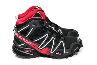 Зимние ботинки (на меху) мужские Salomon Speedcross 3 (реплика) 6-133