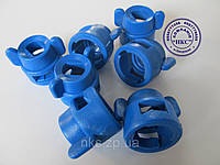 """Колпачок распылителя (синий) к форсунке ОР-2 """"Polimer""""., фото 1"""