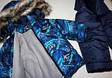 Зимний комбинезон и куртка на мальчика на овчине, фото 3