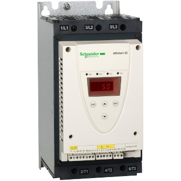 Плавний пуск Altistart 22 30кВт 62А 380В ATS22D62Q