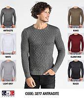 Мужской осенний свитер из вязки 2018 - (разные цвета)