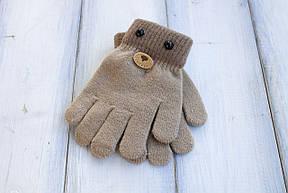 Детские вязаные перчатки D115-5, фото 3