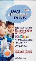 Витамины для детей DAS Gesunde PLUS Konzentration & Lernen mit Omega-3, 30 шт, фото 1