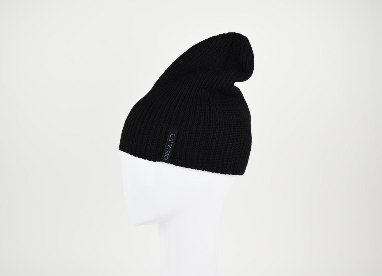 Шапка женская черная La'Visio 525