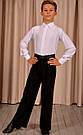 """Рубашка - комбидресс для танцев """"Ювенал"""" на пуговицах, фото 2"""