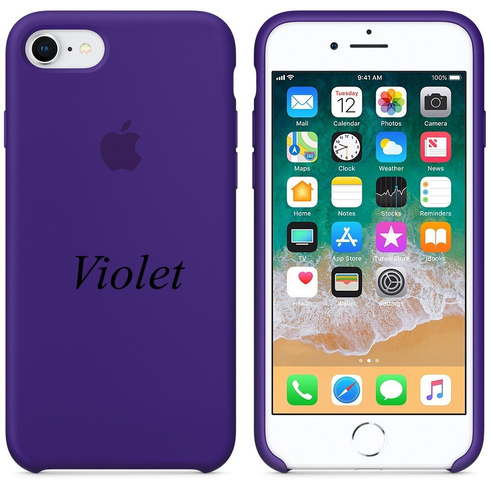"""Apple silicon case iPhone 7/ iPhone 8  """"Violet"""""""