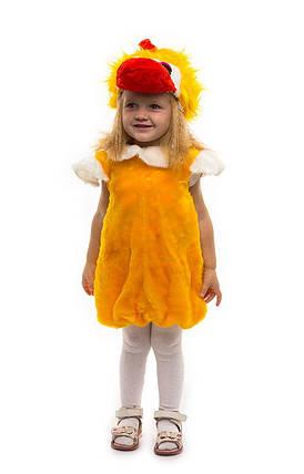 """Детский карнавальный меховой костюм """"Утенок"""" для малышей, фото 2"""