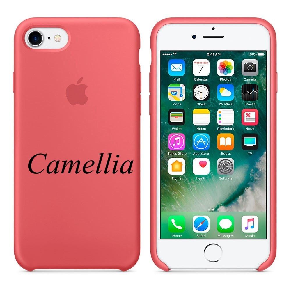 "Apple silicon case iPhone 7 ""Camellia"""